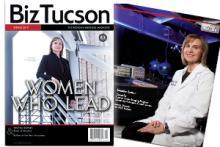 """BizTucson's Spring 2017 Cover with Jennifer Barton"