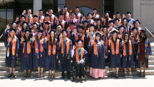 BME commencement group